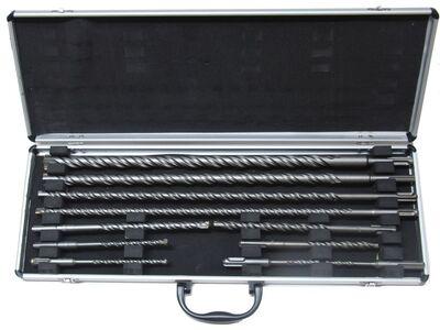 11-dlg. SDS Boor set, Alum box