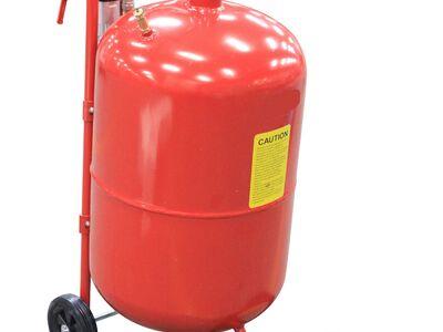 Zandstraler 37.5 liter
